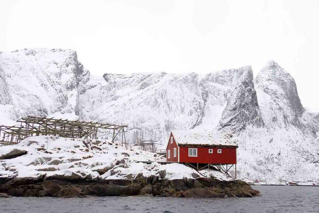 Hamnoy - Croisiere en Laponie