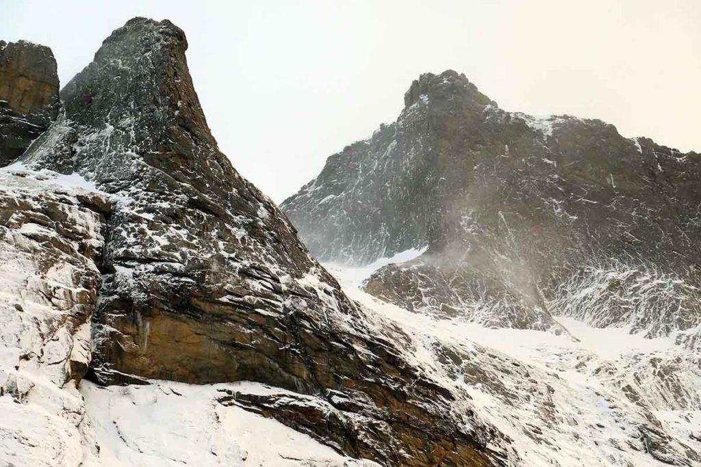 Montagnes - Croisière en Laponie