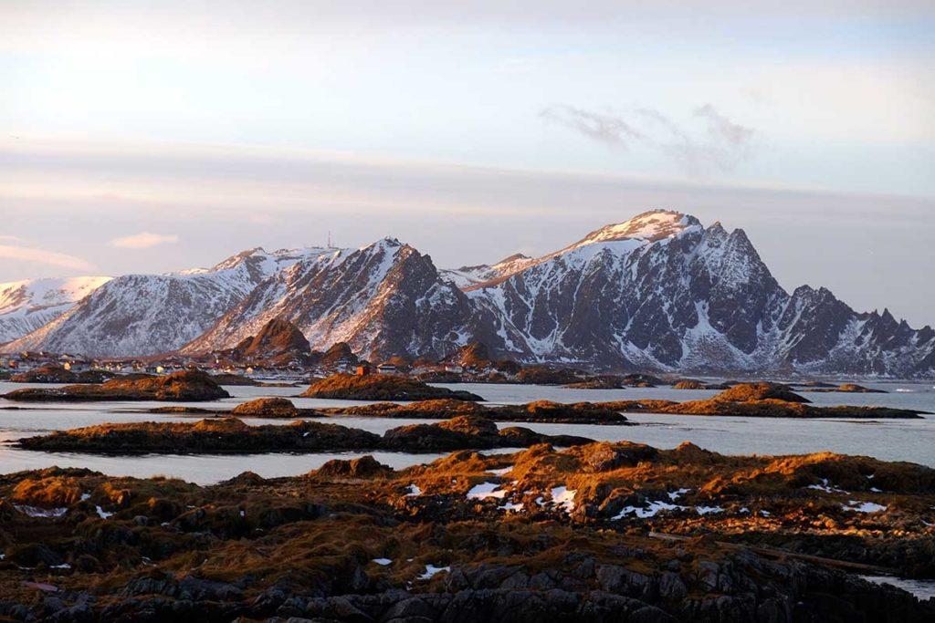 Montagnes - croisière Laponie