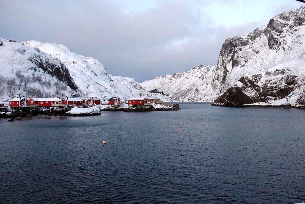 Nusfjord - Croisière en Laponie