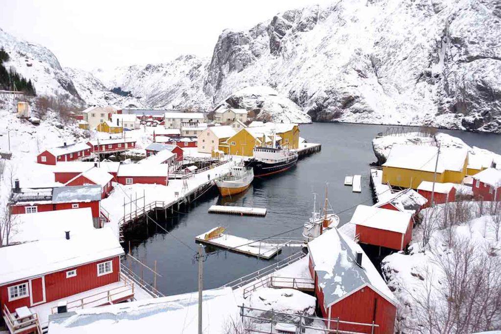 Nusfjord - Croisire en Laponie