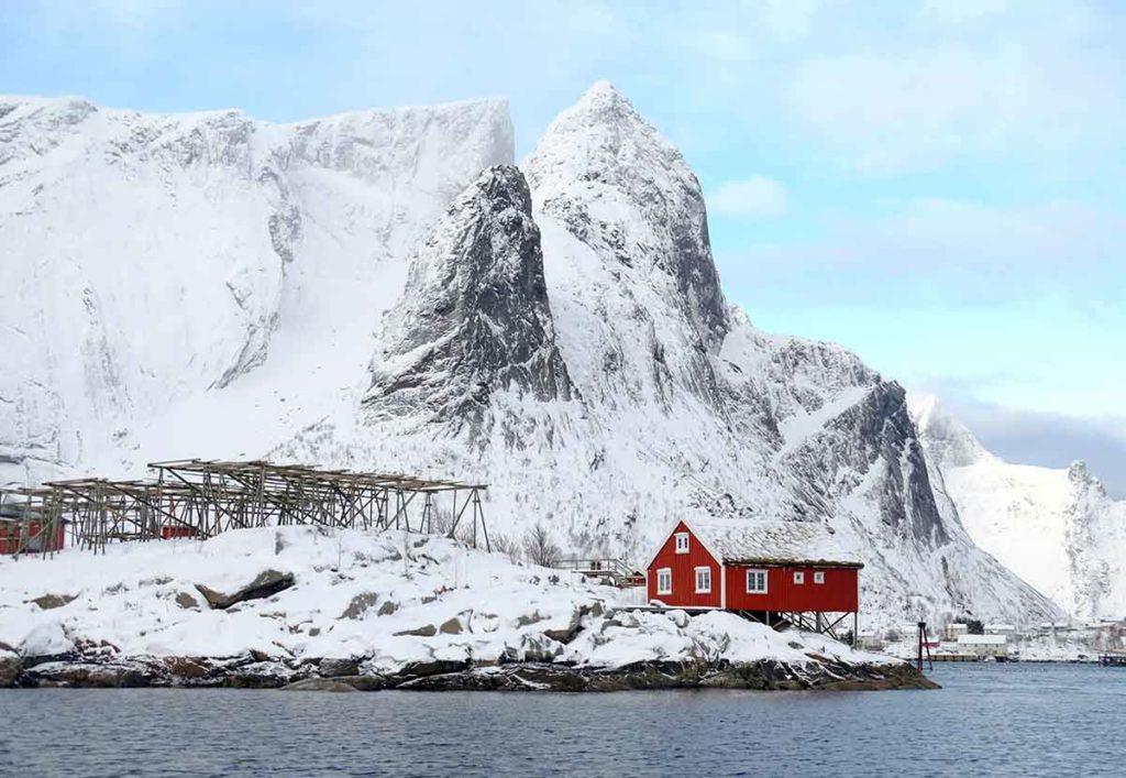 Pêcherie Hamnes - Croisière Laponie
