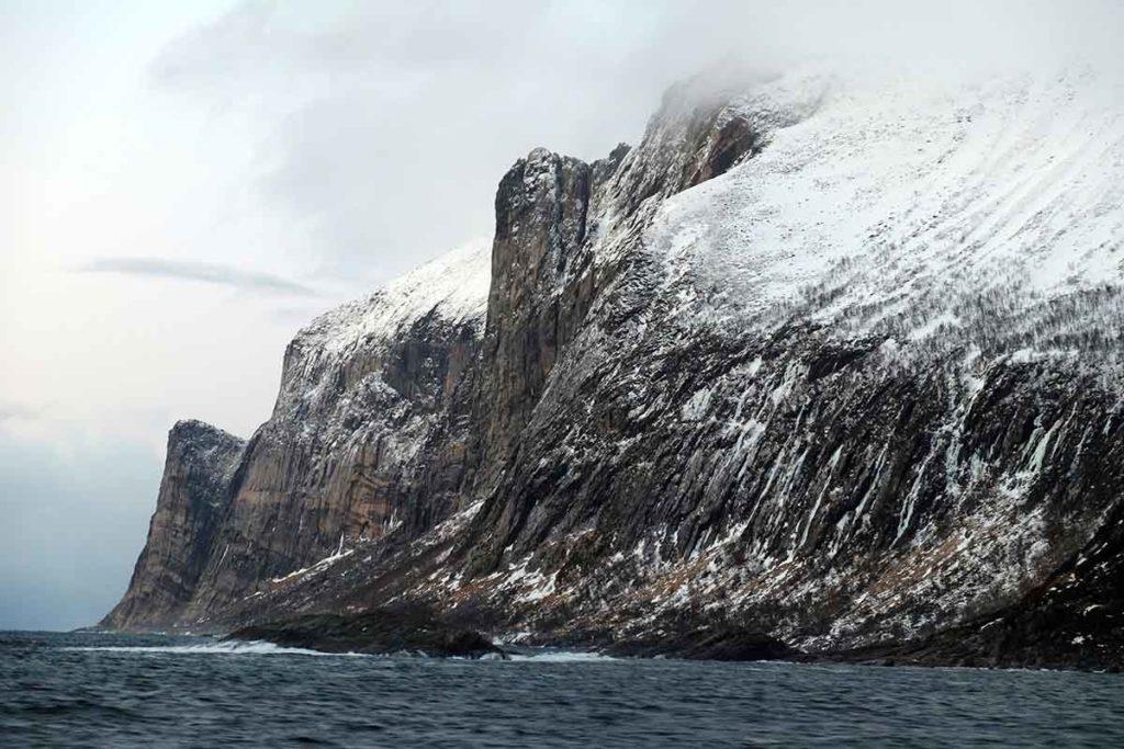 Paysage Norvège - Croisière Laponie