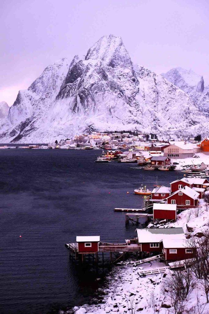 Village Reine - Croisière en Laponie