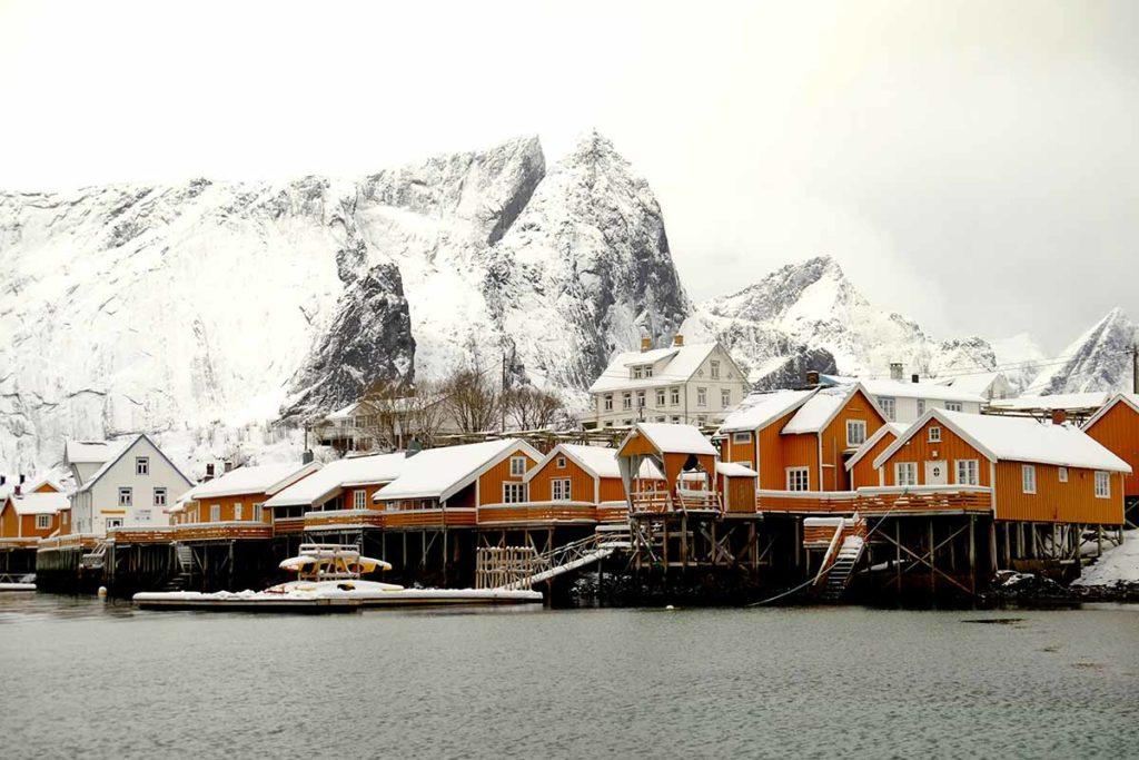 Village de Reine - Laponie
