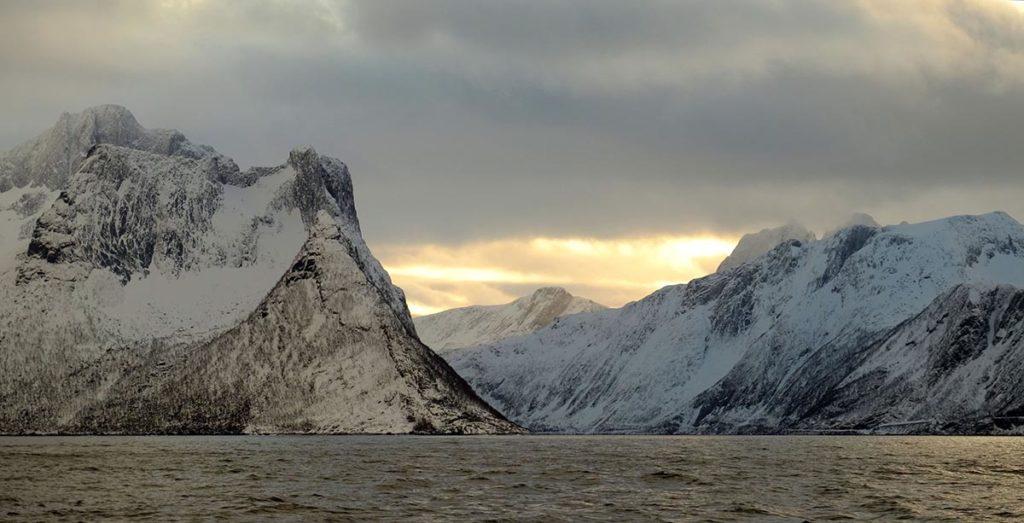 fjord de Mefjord - Croisière Laponie