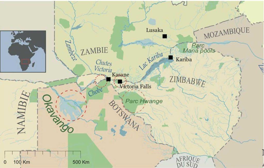 Carte Zambeze