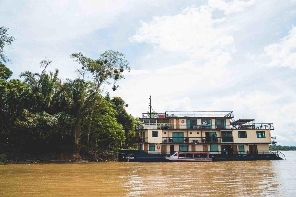 Jangada - Croisière Amazonie
