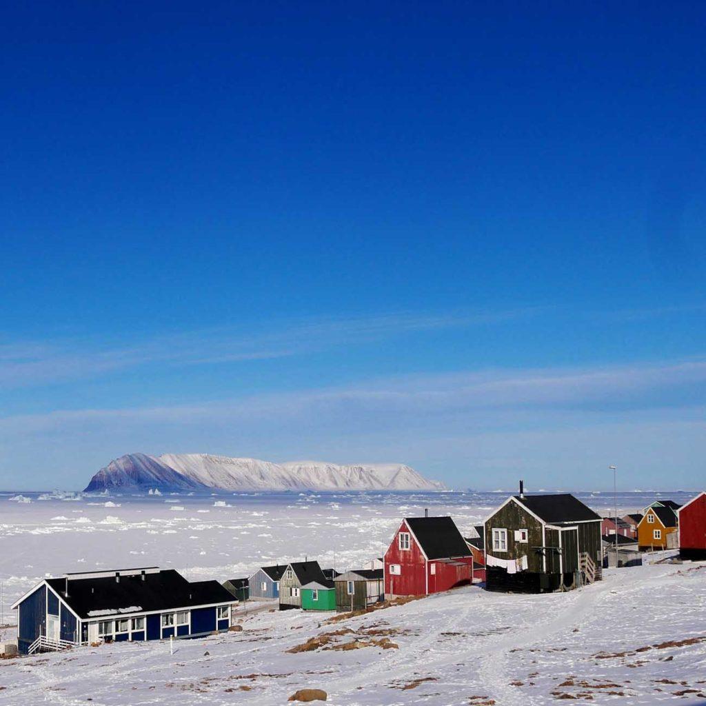 Qaanaaq - Groenland