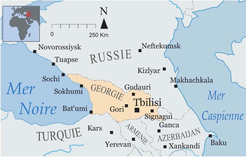 Réveillon Géorgie et Caucase