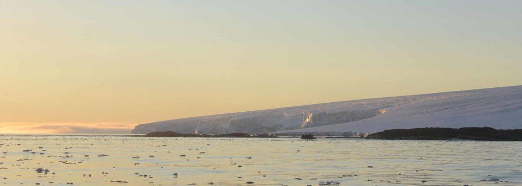 Découverte de île blanche au Spitzberg