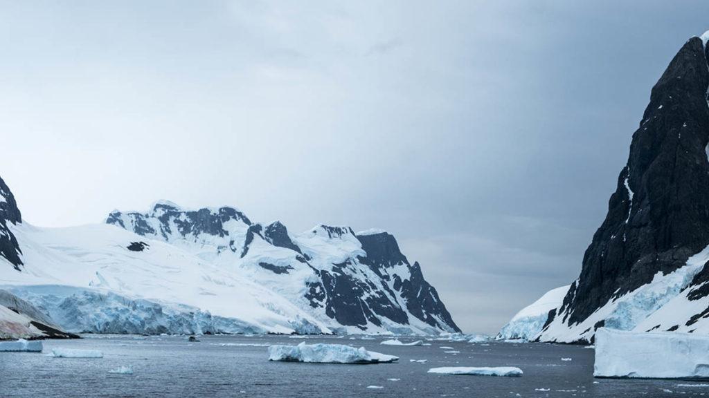Chenal Lemaire - Antarctique