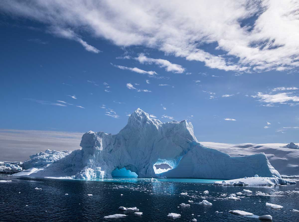 Iceberg - Antarctique