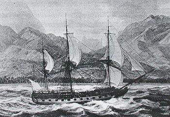 La Boudeuse - Bateau Louis Antoine de Bougainville