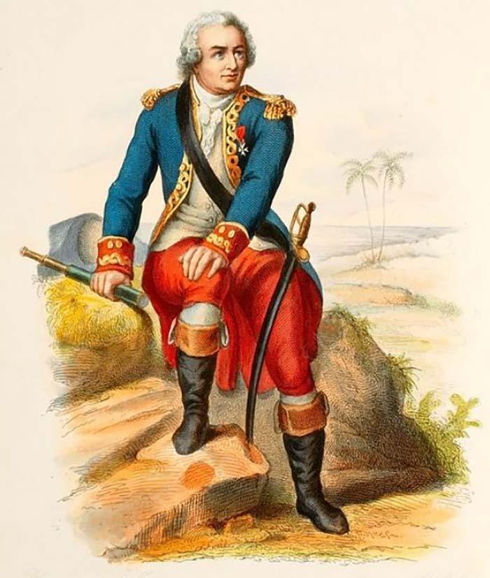 Louis Antoine de Bougainville - Explorateur Français