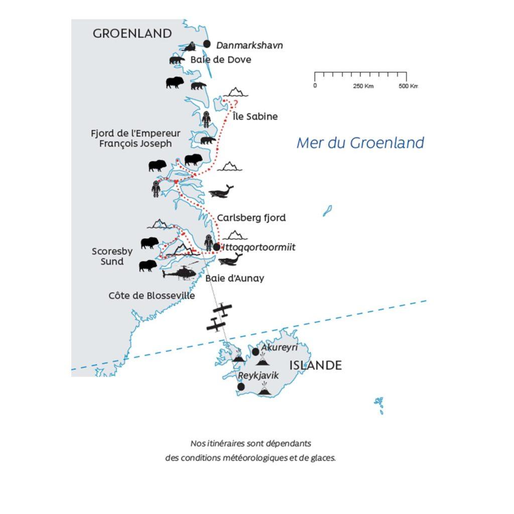 Le Parc national du Nord-Est du Groenland