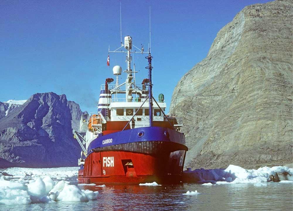 Brise Glace Arctique Grands Espaces