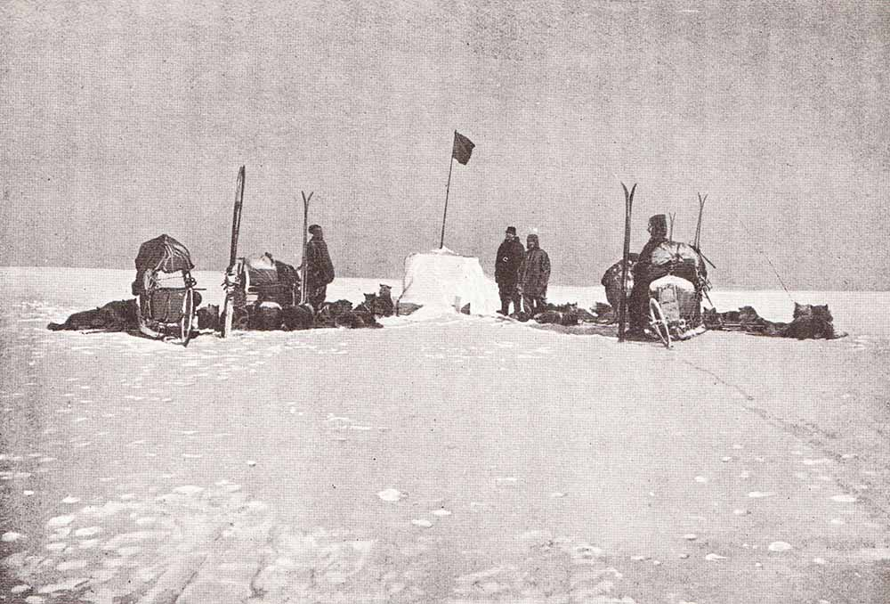 Amundsen au Pole Sud