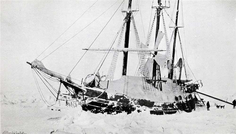 Navire Fram Amundsen Nansen