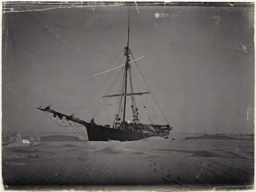 Navire Gjøa Passage Nord Ouest Amundsen
