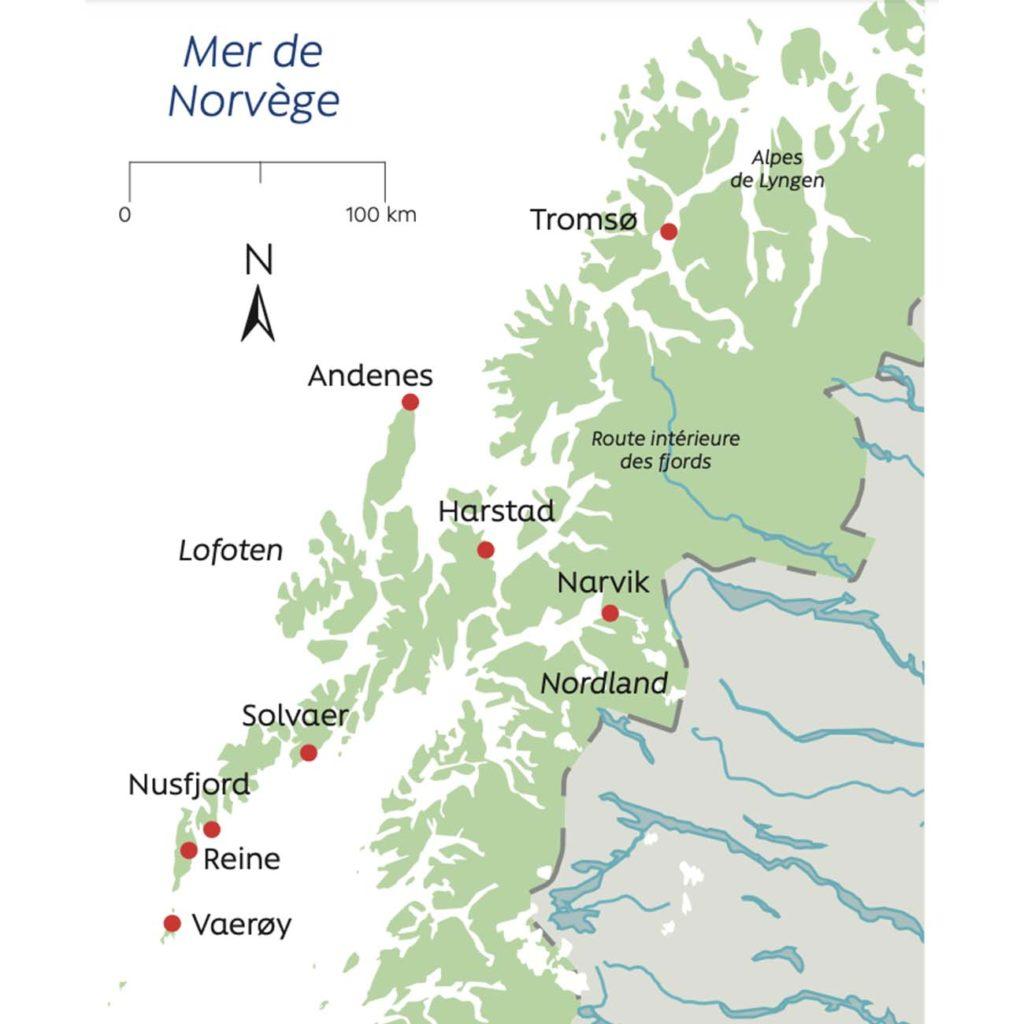 Îles Lofoten, aurores boréales et baleines