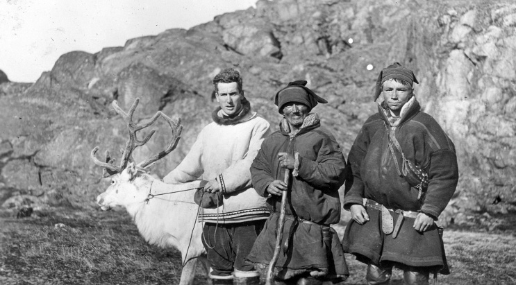 Eleveur de Renne Baffin