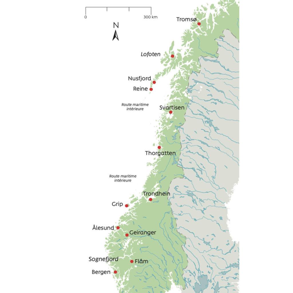 La route intérieure maritime - Norvège