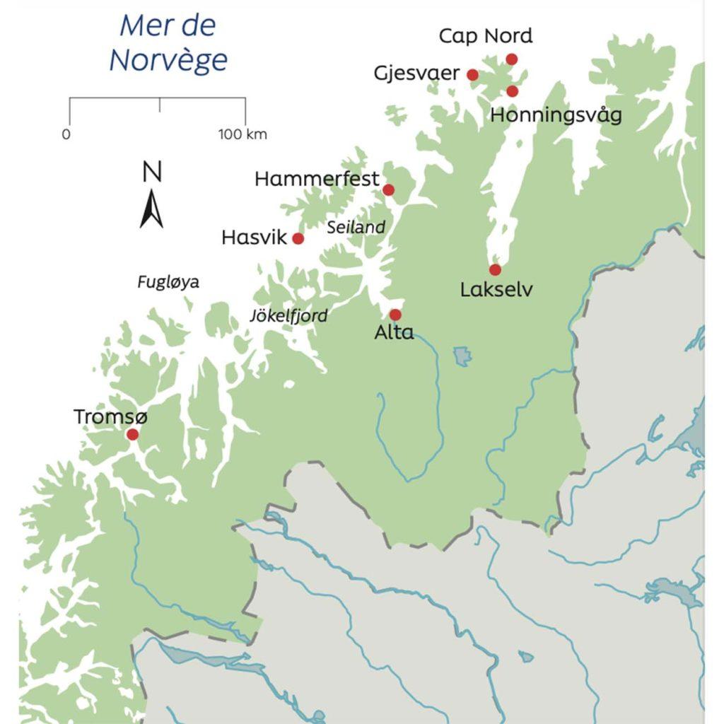 Laponie et la route du Cap Nord