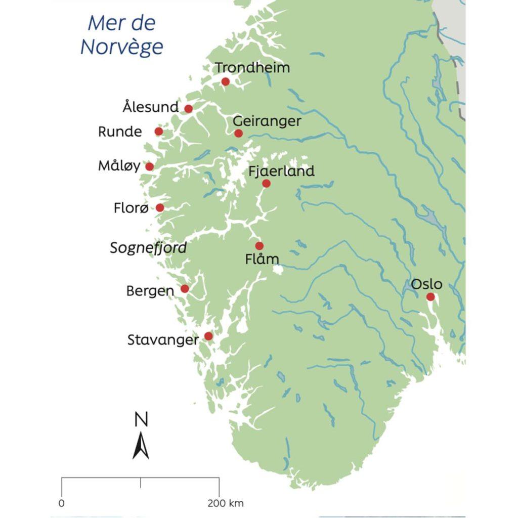 Secrets et couleurs - Fjords Norvege