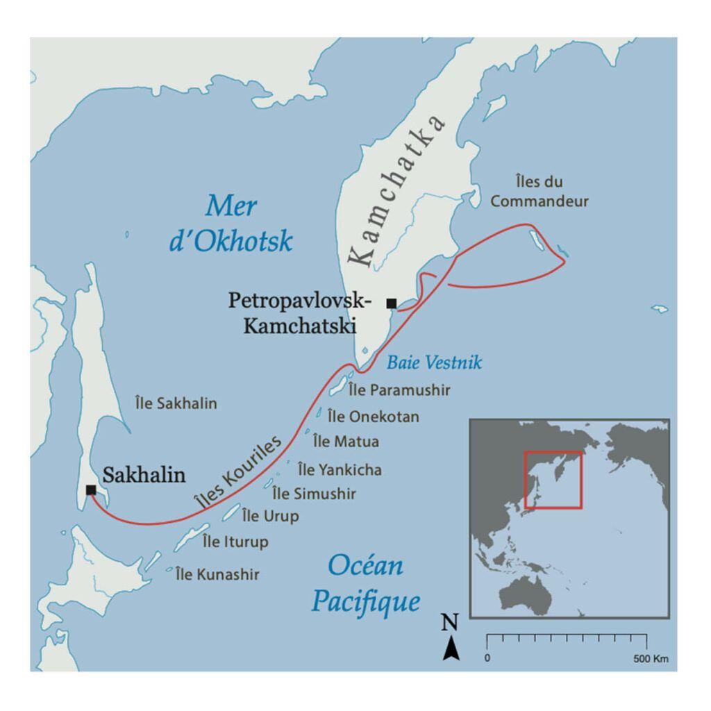 Ceinture de feu - Kamchatka