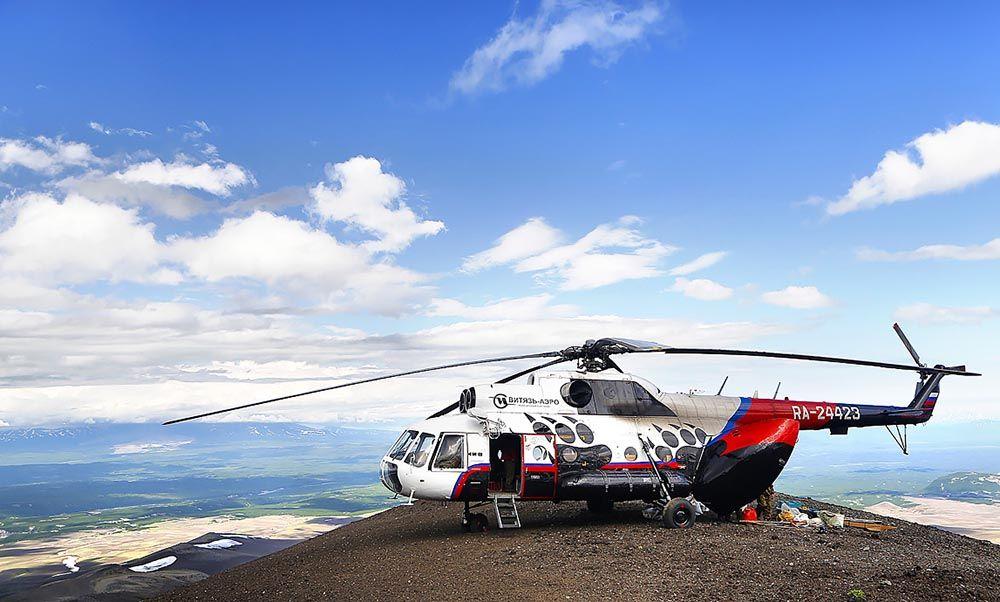 Vityas Aero Helicoptere Kamchatka