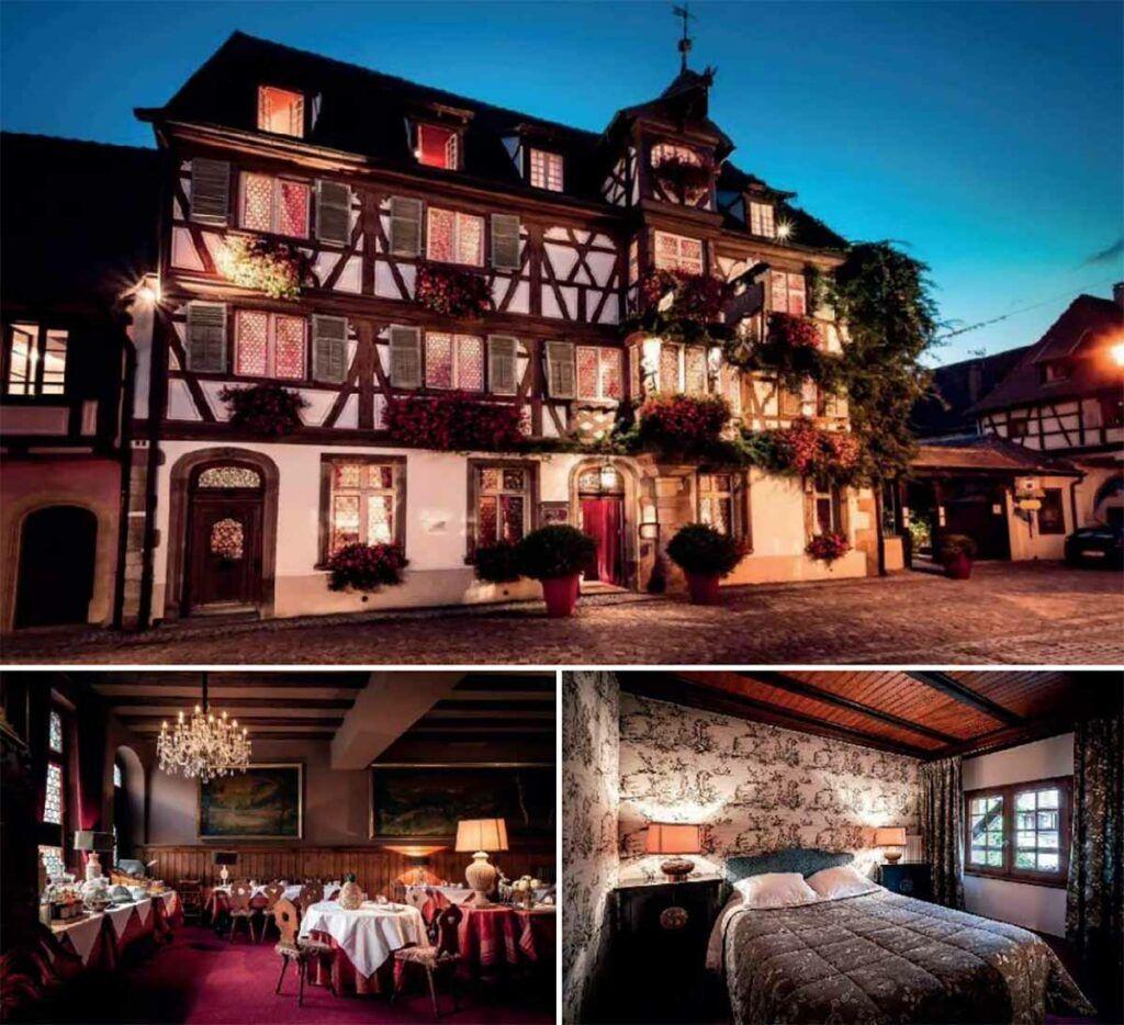 Hotel des deux clefs - Circuit Alsace