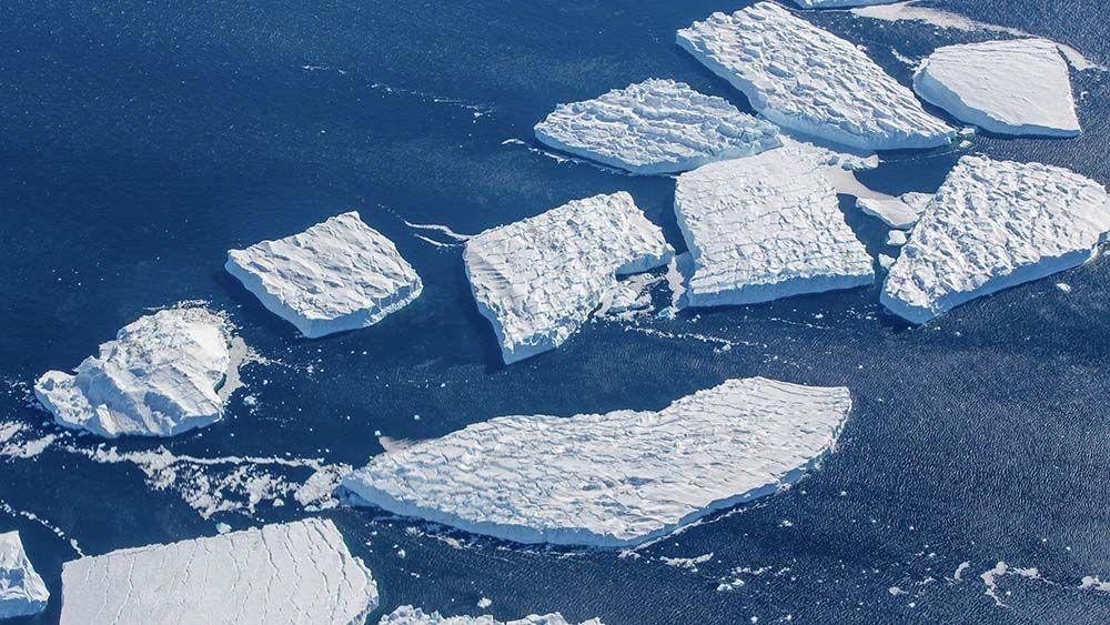 Iceberg tabulaire Antarctique