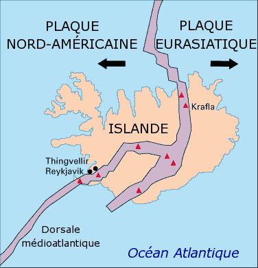 Islande Dorsale Medio Atlantqiue