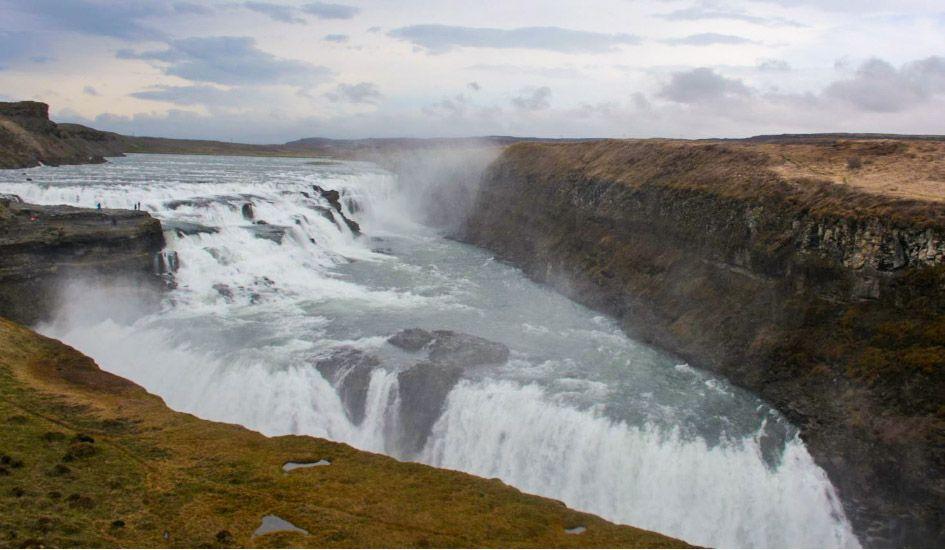 Chutes de Gullfoss Islande