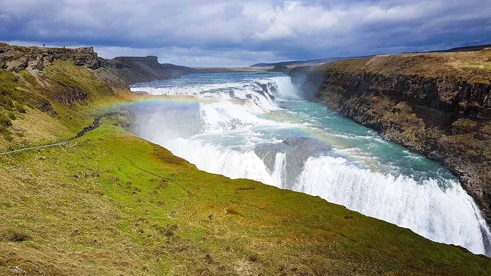 Gulffoss Islande