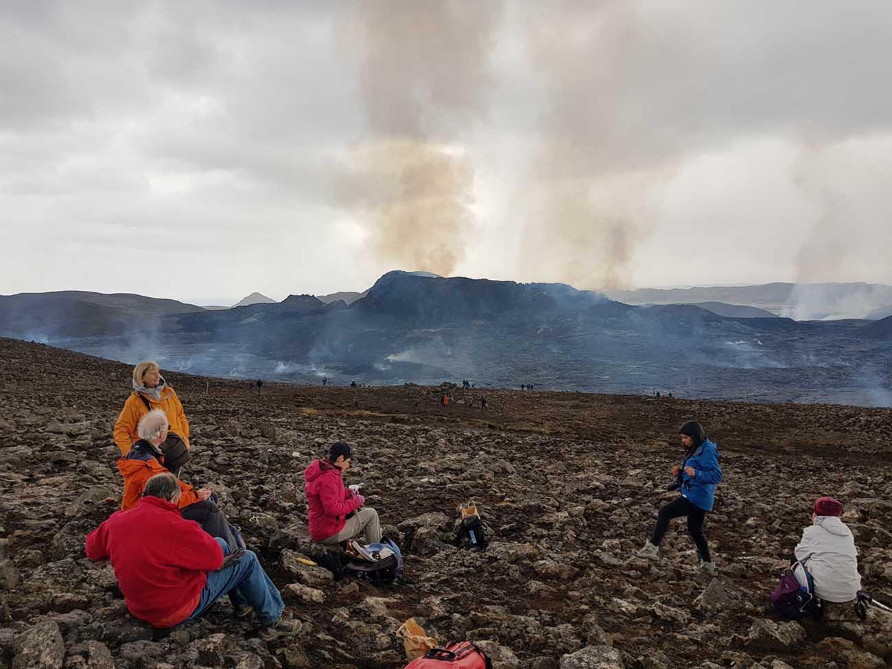 Islande Eruption
