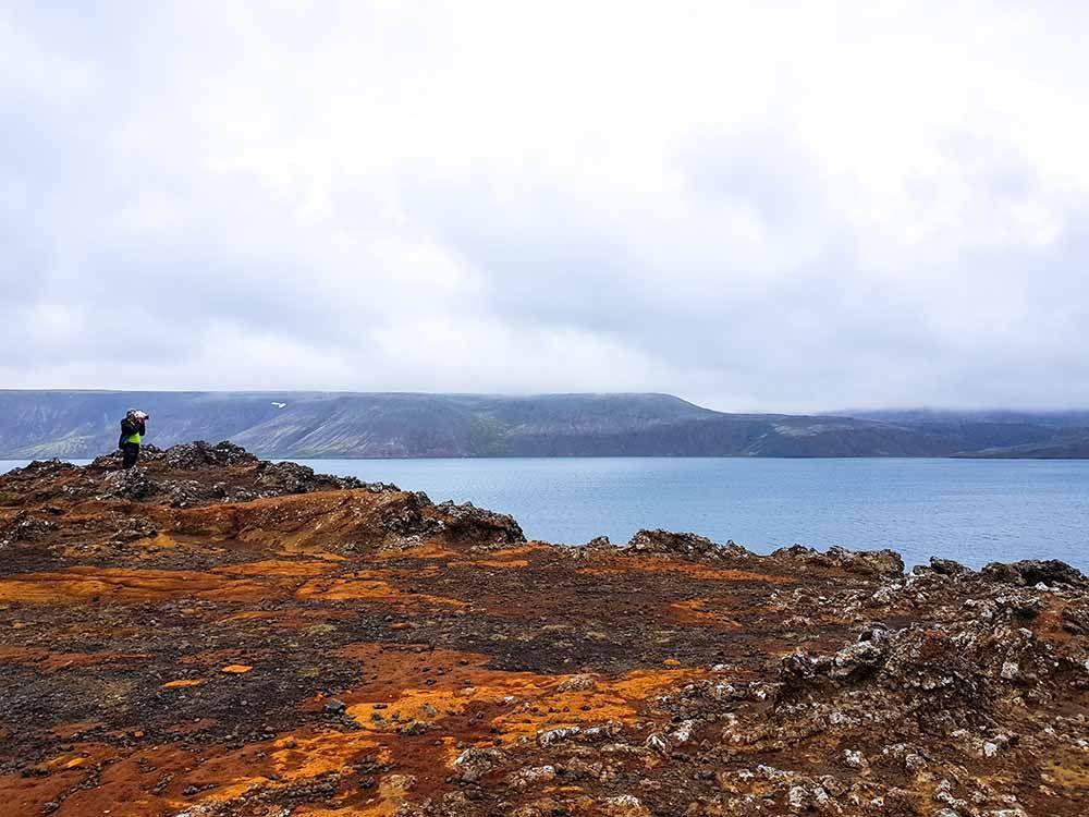 Islande Lac Kleifarvatn