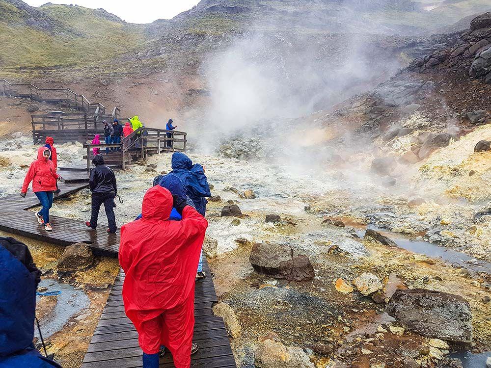Islande Solfatare de Seltun