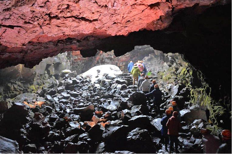 Tunnel de Raufarhólshellir