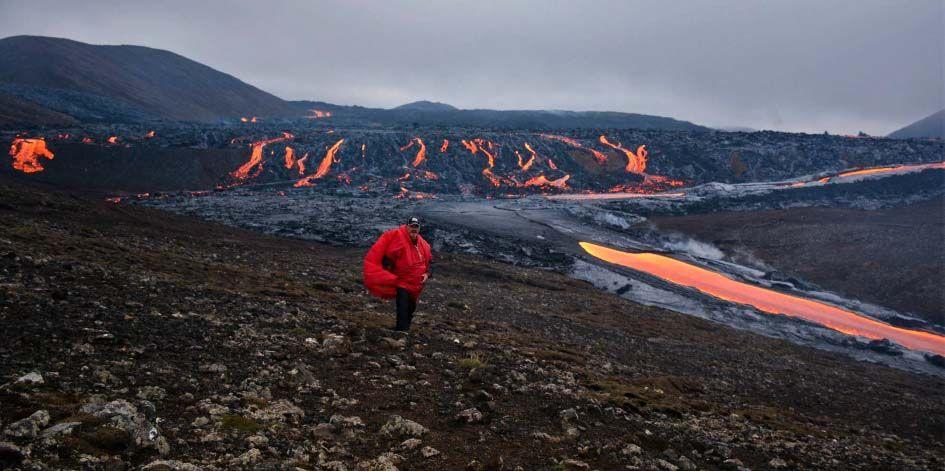 Volcan éruption Islande Fagradalsfjall