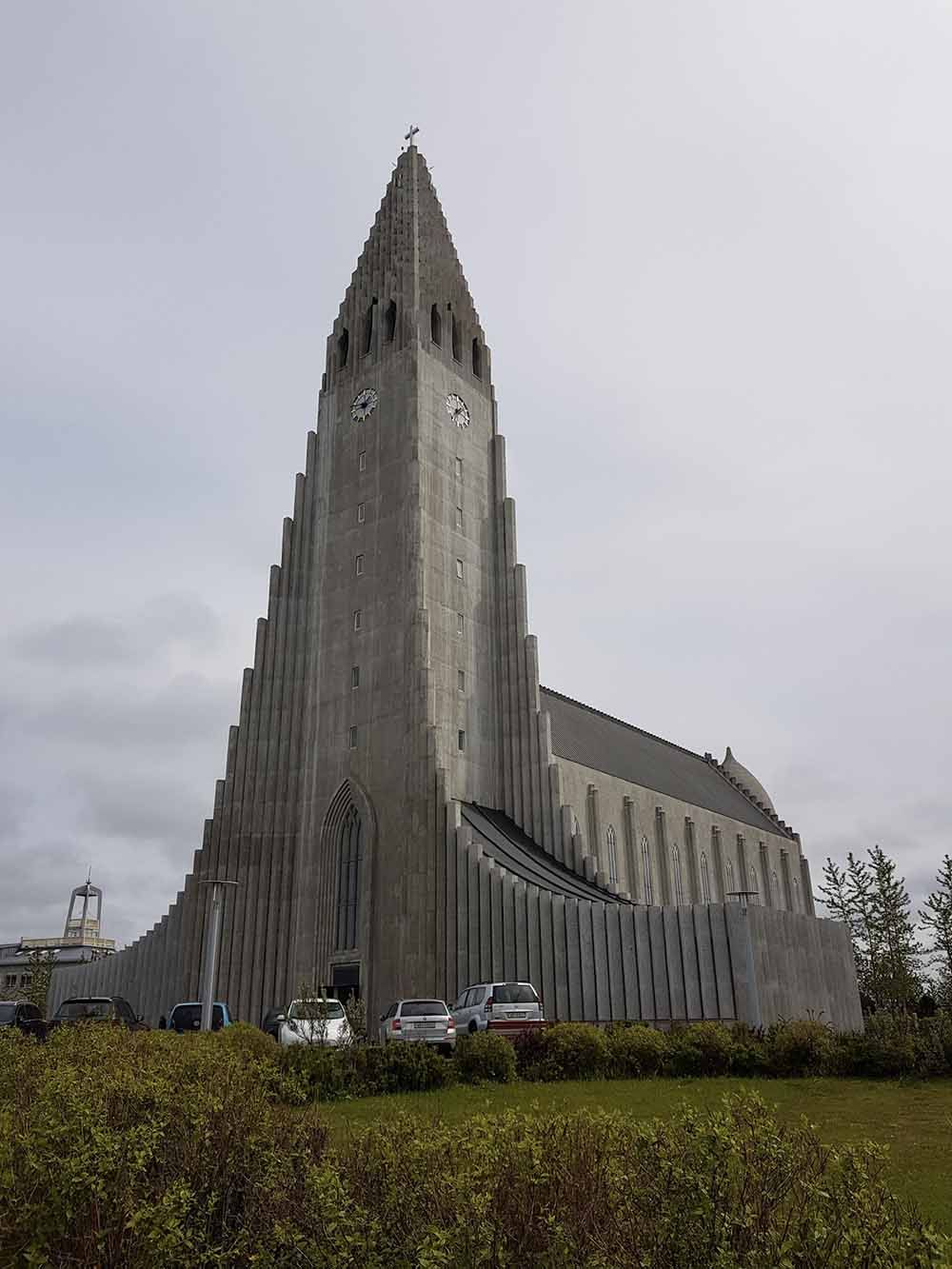 Eglise Hallgrímskirkja Islande