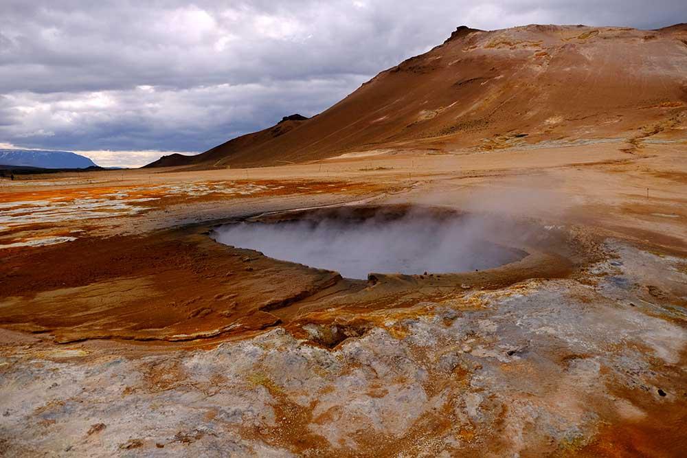 Hverir Námaskarð Islande