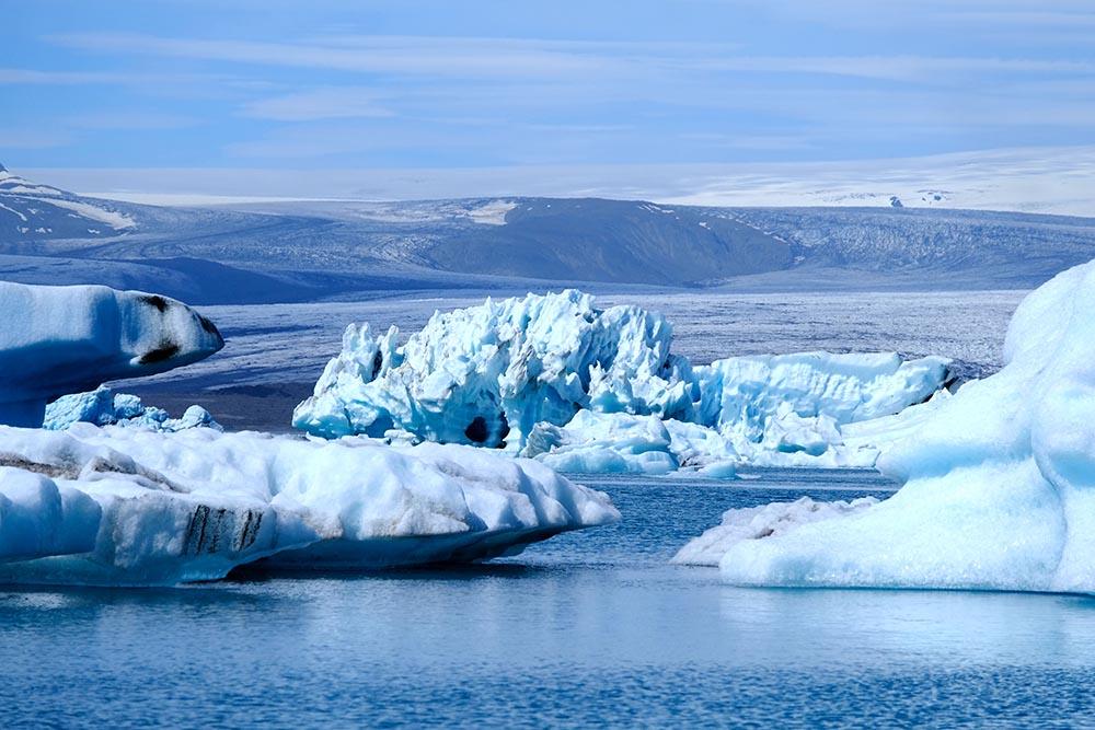 Jökulsárlón Islande
