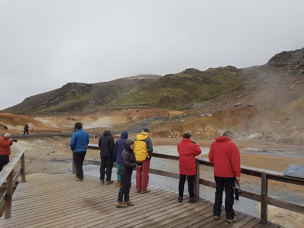 Solfatare Seltún Islande