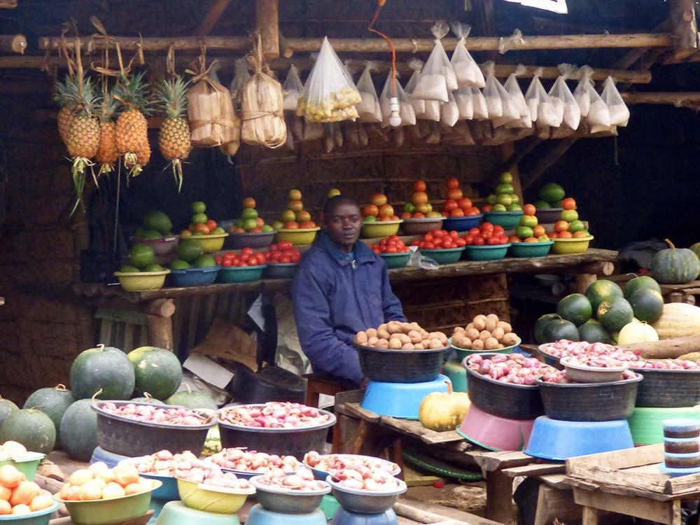 Ouganda marché