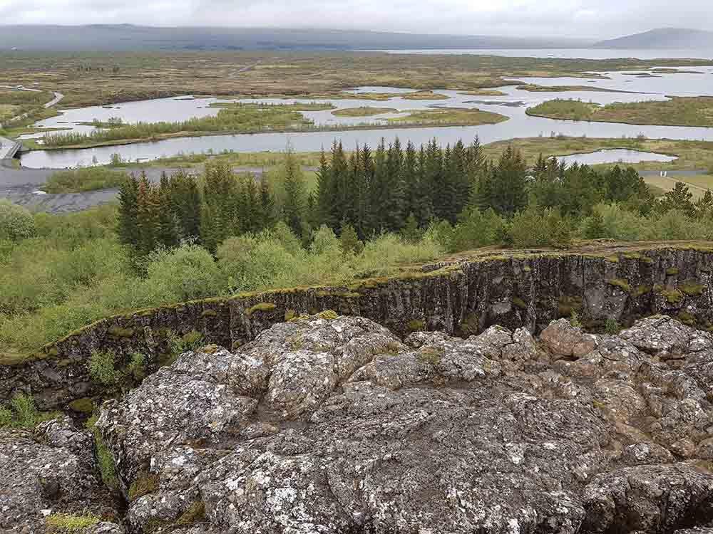 Thingvellir Islande