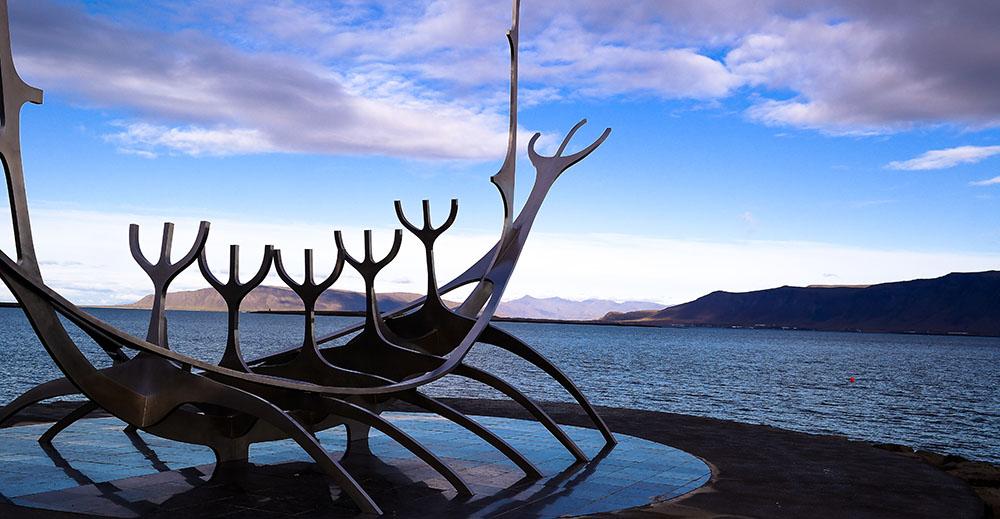 """Voyageur du soleil"" Reykjavic"