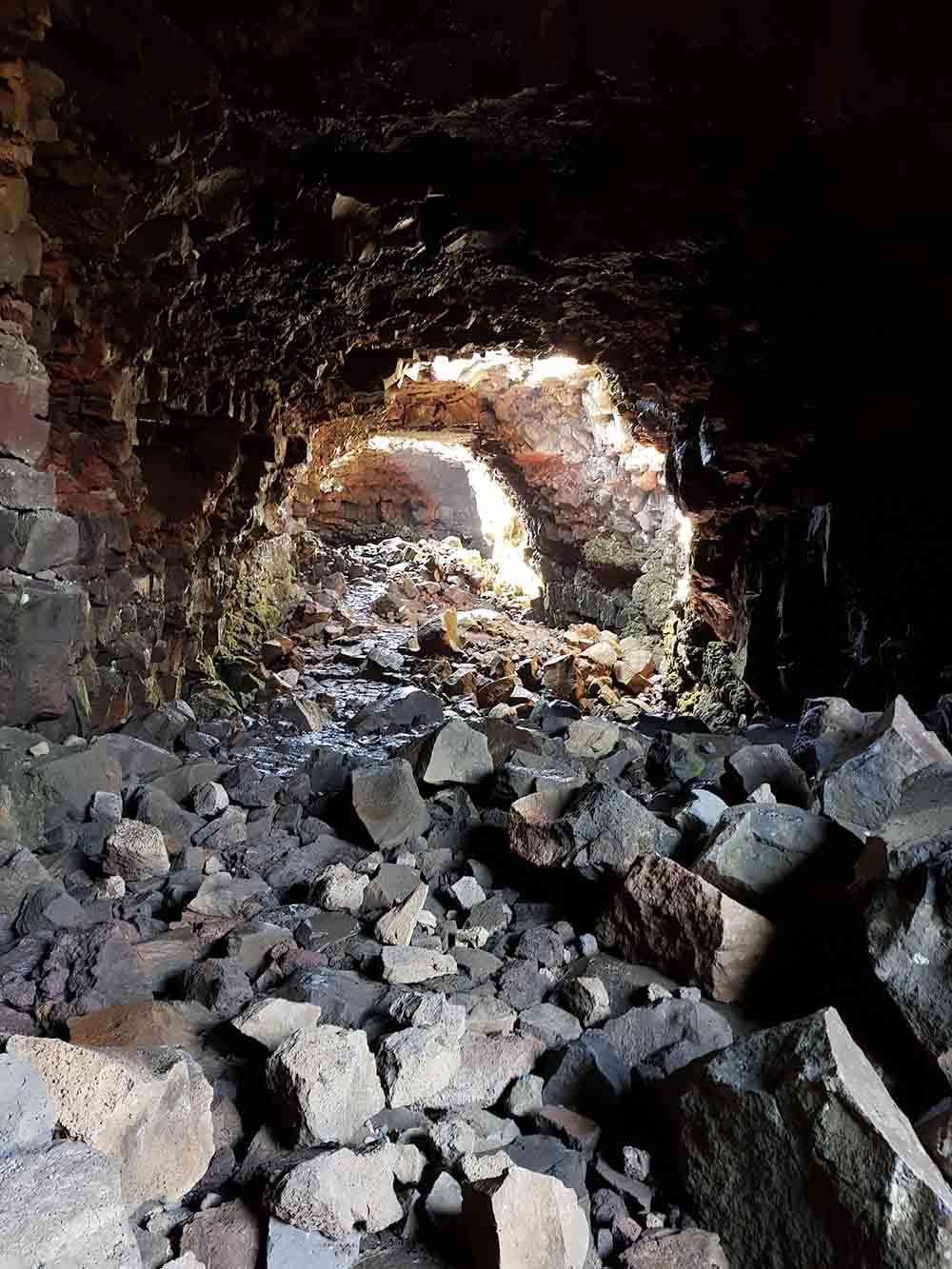 Tunnel lave Raufarhólshellir