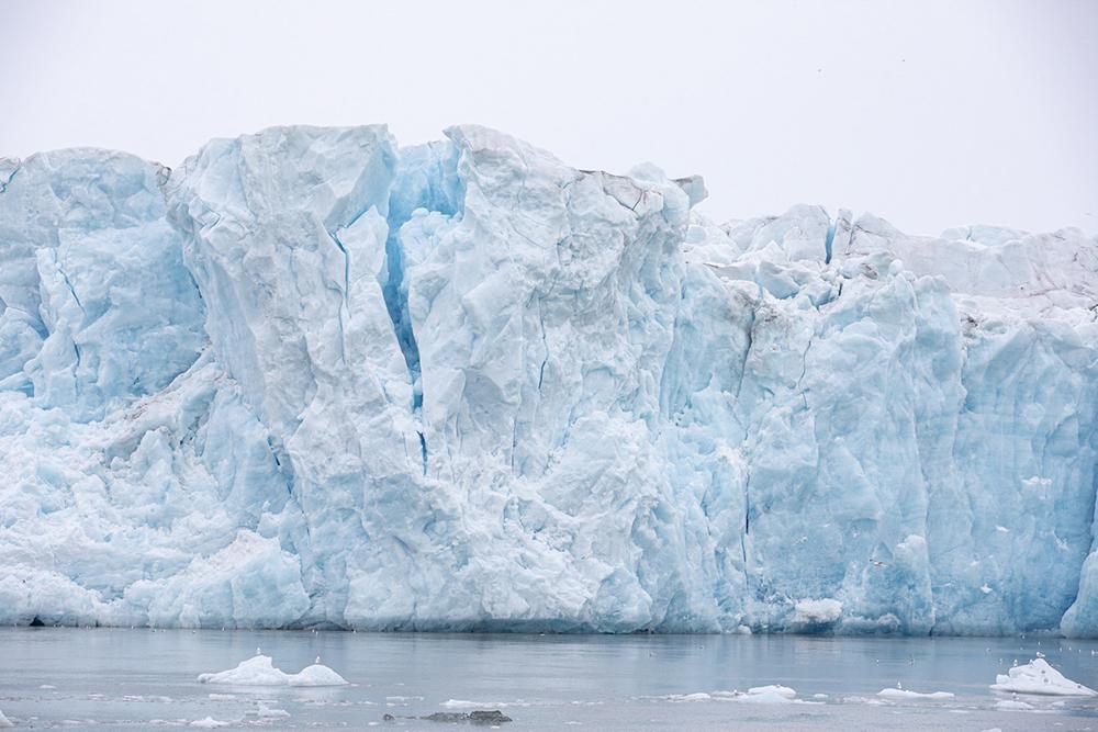 Front glaciaire Spitzberg